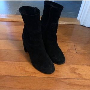 Chinese Laundry Suede Sock bootie